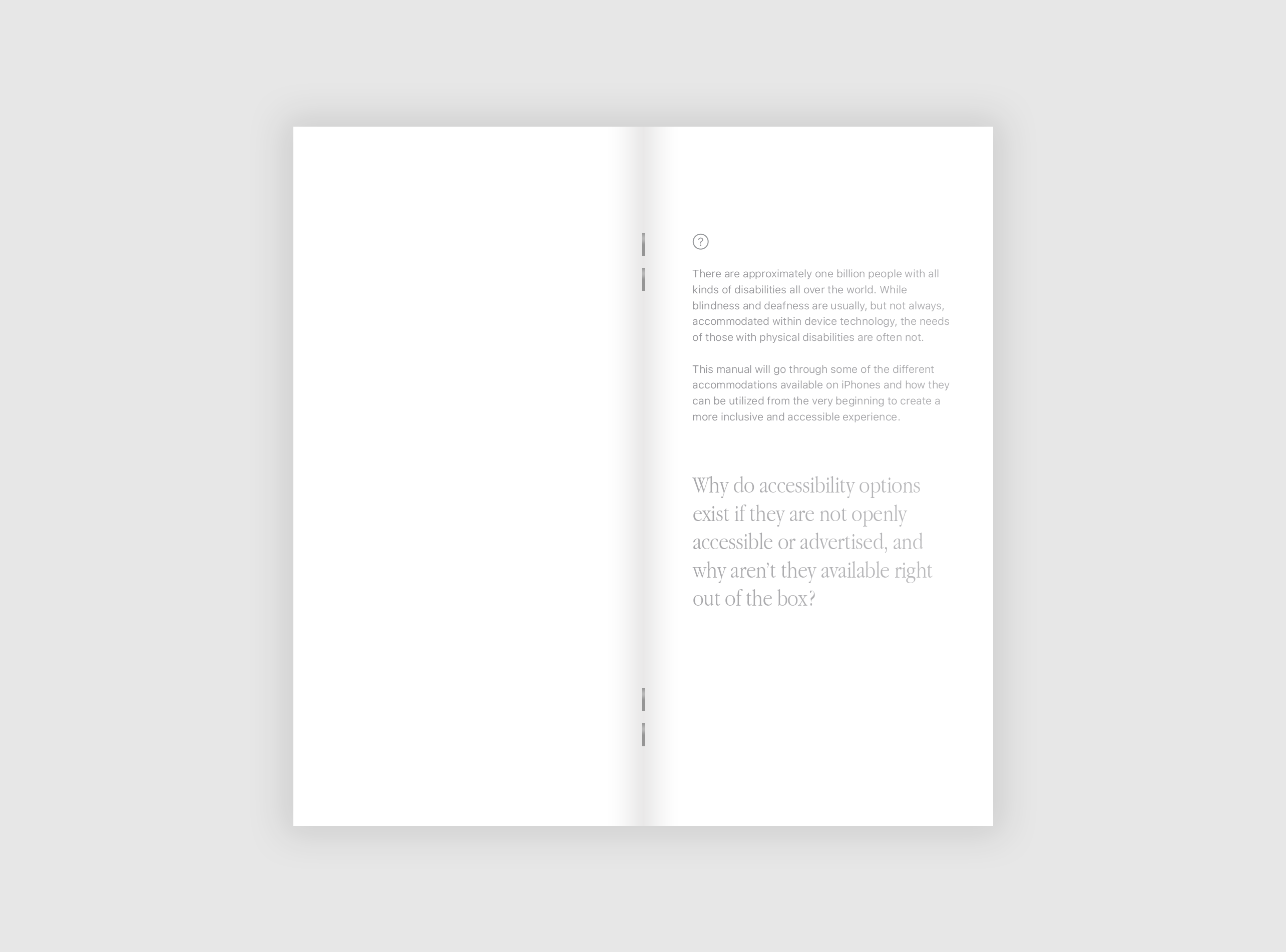 Thesis Book Pages 2 and 3